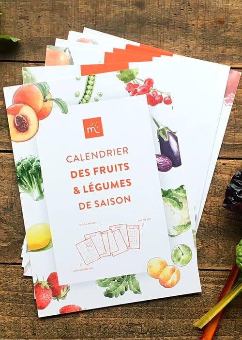 Calendrier Perpétuel des fruits et légumes de saison